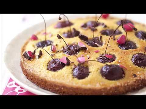 recette-:-clafoutis-aux-cerises-et-amandes