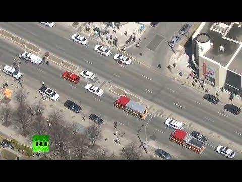 Canadá: Varios heridos deja atropello de una furgoneta en Toronto