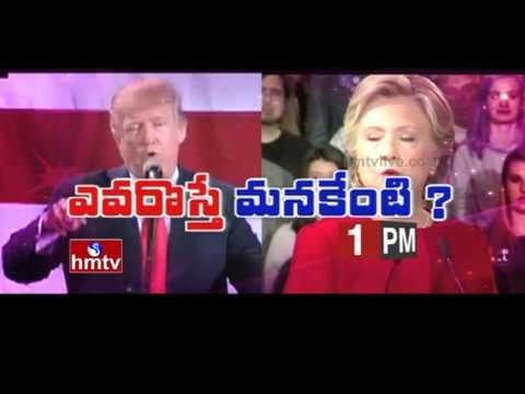 American Telugu People Effect in US Presidential Election 2016 | Evarosthe Manakenti | Promo | HMTV