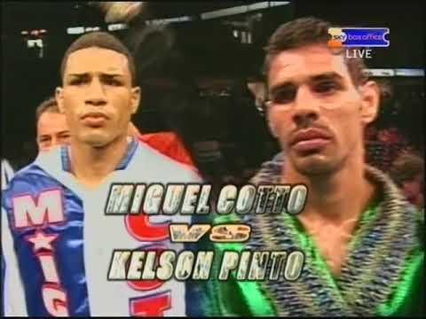 Miguel Cotto Vs. Kelson Pinto + Antonio Margarito Vs. Daniel Santos II - BOXING