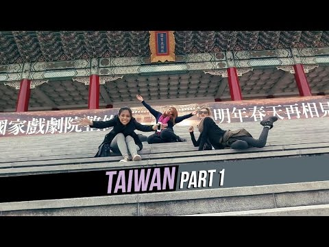 Taiwan 2016 Day 1 - Chiang Kai Shek, 228 Memorial Park, Ximending Night Market