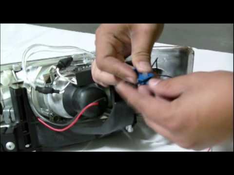 CCFL Halo Headlight LED Installation Video - YouTube