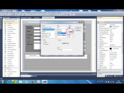 connecter une BD access avec une interface VB