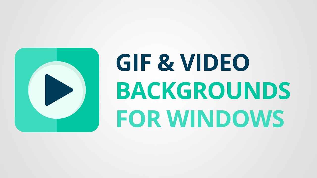 how to set gif or video as background on windows youtube
