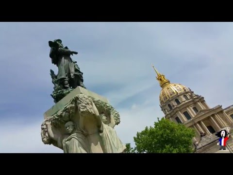 2015 - Travel Paris France Trip - Les Invalides - Samsung Galaxy Note 4 Gopro hero 3+