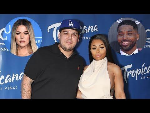 Khloe Kardashian & Tristan Thompson Help Rob Cope With Blac Chyna Drama