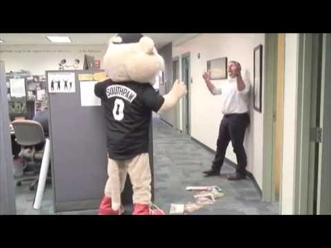 Southpaw pranks ValleyCats office