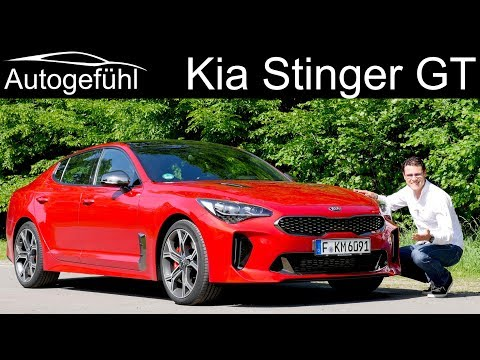 Kia Stinger GT FULL REVIEW - can it beat Audi BMW Mercedes ?
