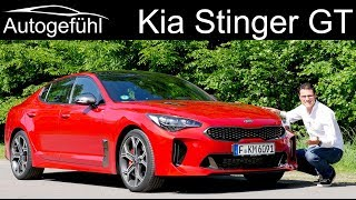 Kia Stinger GT FULL REVIEW - can it beat Audi BMW Mercedes ? - Autogefühl