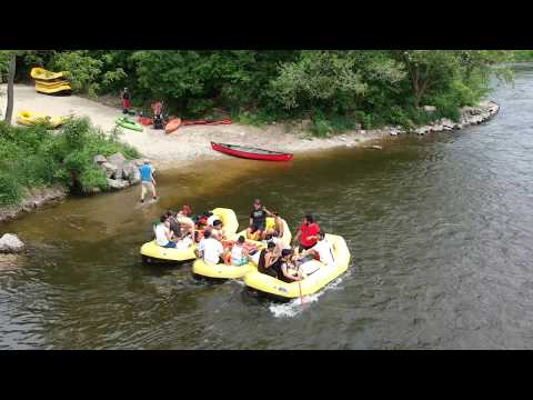 Rafting on the Cannon River in Cannon Falls, MN