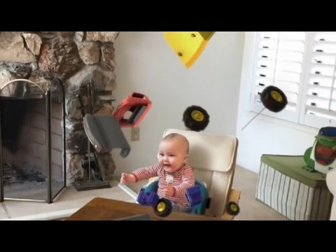 'Action Movie Kid's' Baby Sister Has Super Powers Too!