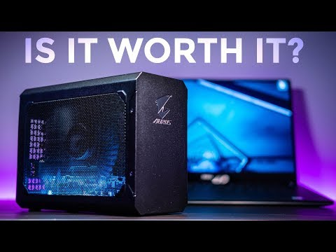 RTX EGPUs For Gaming And Video Editing On Older Laptops - AORUS RTX 2070 Gaming Box