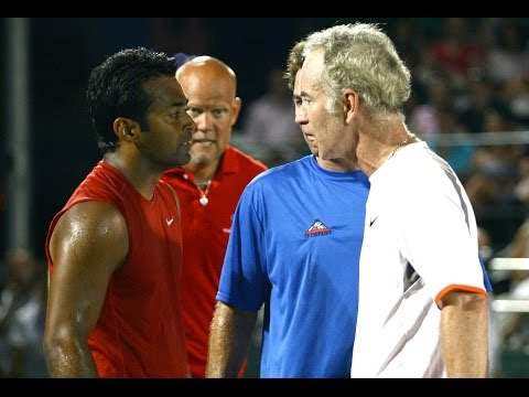CSN Recaps Leander Paes/John McEnroe Altercation at Kastles Match