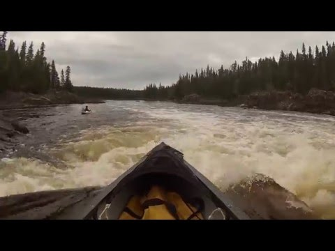 Northern Ontario River Canoe Trip- Missinaibi  River (Peterbell to Mattice) Part 3