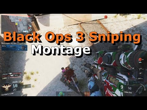 LodenMF - Black Ops 3 Sniper Montage HD