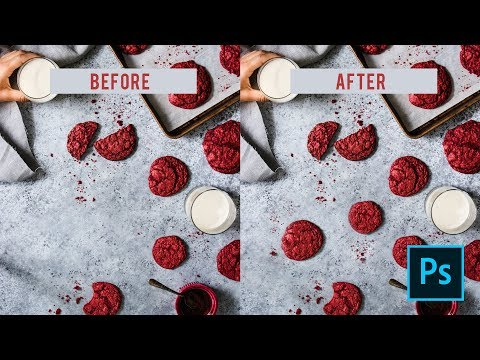 My 3 Favorite Photoshop Retouching Tools | FOOD PHOTOGRAPHY TUTORIAL thumbnail