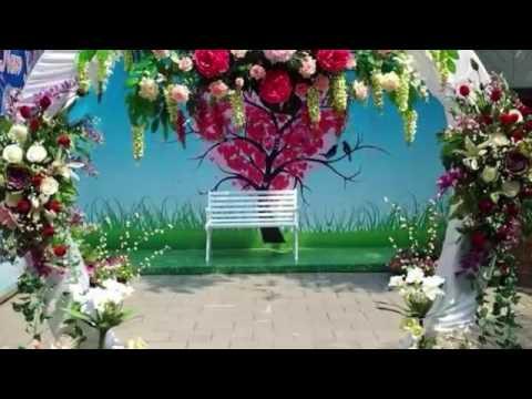 ขั้น ตอน การ จัด ซุ้ม ดอกไม้ งาน แต่งงาน