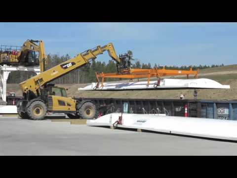 Brickhaven Mine Structural Fill Project coal ash rail unloading operations
