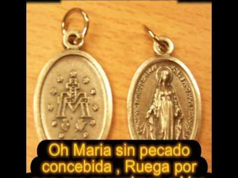 Virgen De La Medalla Milagrosa Con Recursos Audiovisuales