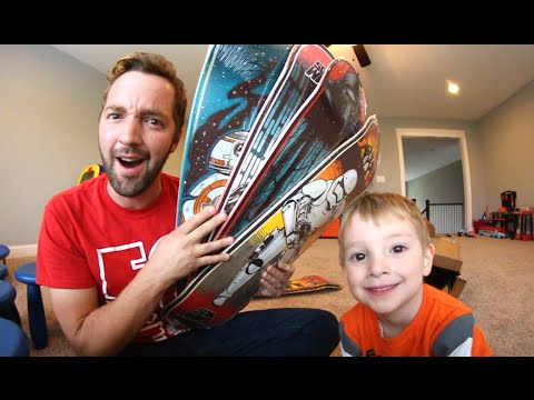 Star Wars Skateboards / FATHER SON UNBOXING!