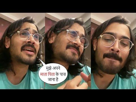 अब जीने का मन नहीं करता मेरा🥺BB Ki Vines 1st LIVE Video After He Lost His Parents,Bhuvan Bam Crying😢