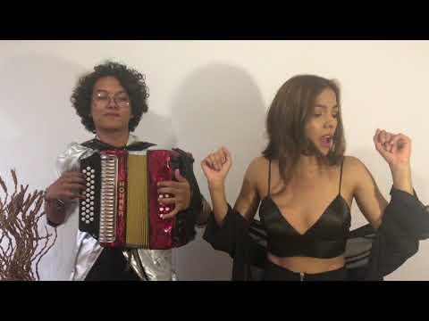 Downtown - Anitta & J Balvin Mulett Acordeón Cover ft Eliana Raventos