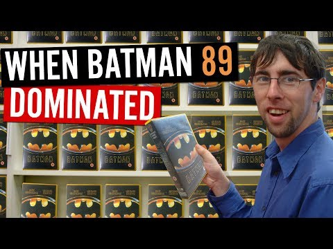 When Batman 89 Dominated the video rental stores (and other bat memories)