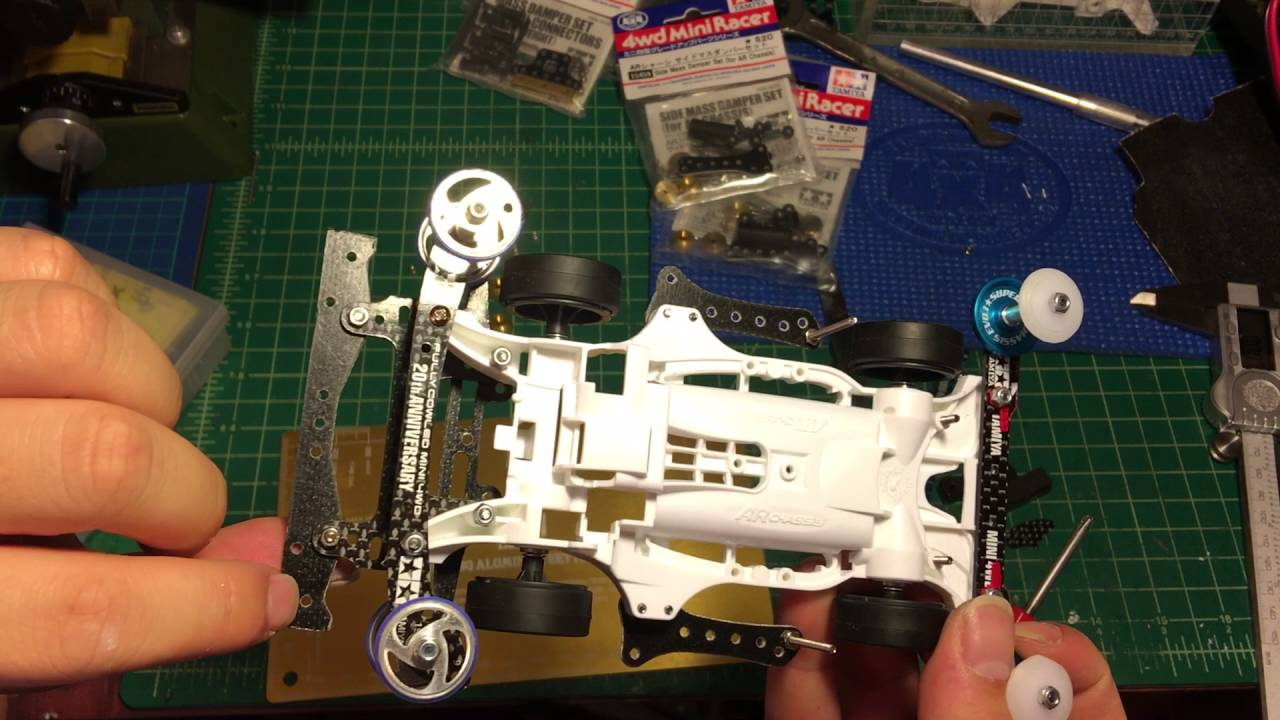 Tamiya Mini 4wd Ar Chassis Foundation Series 4