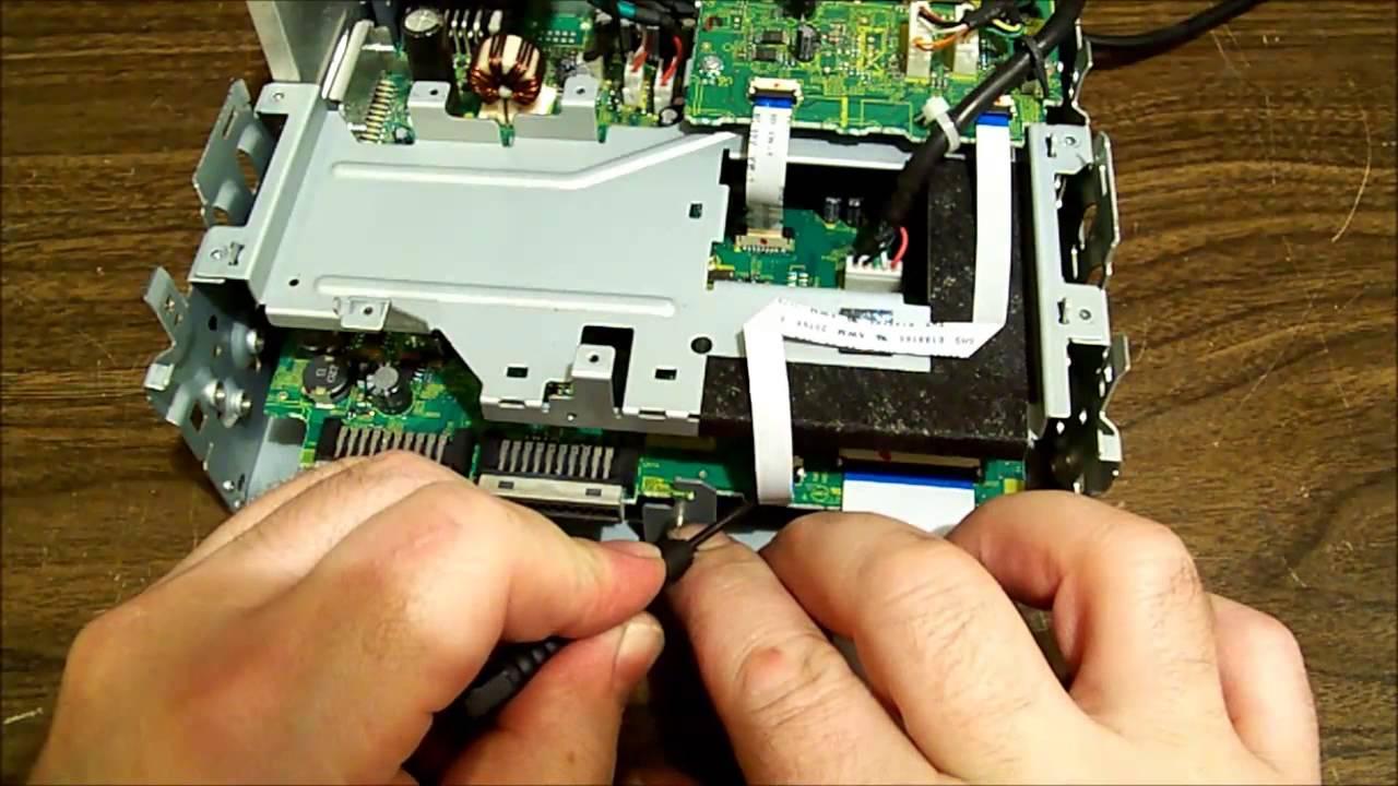 KW-AV51 JVC car stereo repair