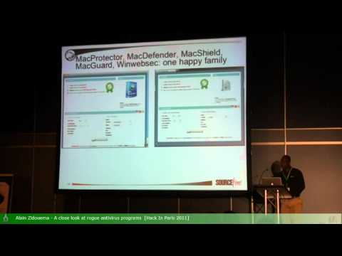 10of12   Alain Zidouema   A close look at rogue antivirus pr