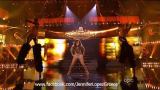 Jennifer Lopez - Live at 39th Annual American Music Awards 2011