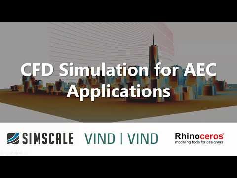 CFD Simulation for AEC Applications - Session 2: Wind Load Prediction with CFD