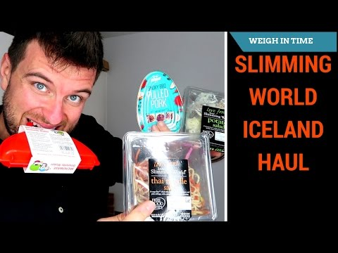 Iceland Slimming World Haul - Syn Free Lunch - Weigh In Time