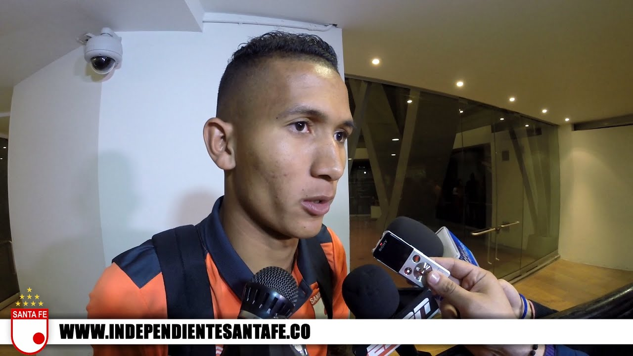 Reacciones Francisco Meza Independiente Santa Fe 3