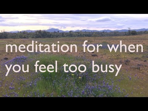 How 7 Busy Women Take the time to Meditate