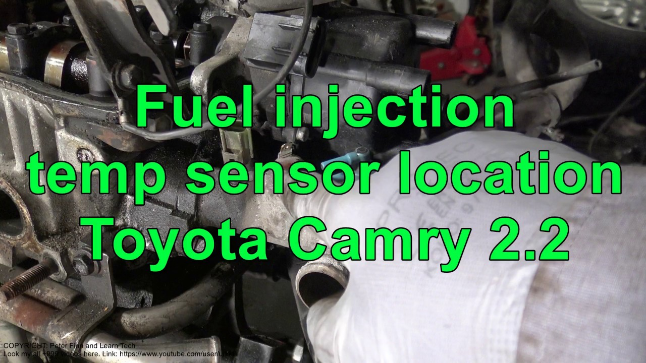 2009 Toyota Camry Coolant Temperature Sensor Location Diagram And 2000 Sienna