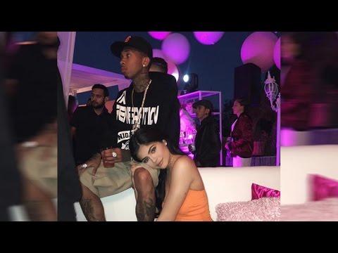 "Kylie Jenner Posts ""Mr. & Mrs."" Pic WIth Tyga & SEXY Bikini Selfie"