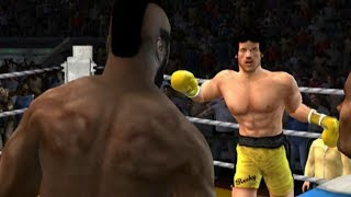 Rocky legends (PS2) Clubber Lang vs Rocky Balboa (Career Clubber Lang)