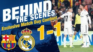 Barcelona 1-1 Real Madrid | EXCLUSIVE CLÁSICO CONTENT