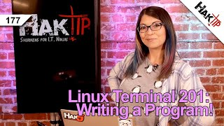 Building a Program With Shell Scripting!: Linux Terminal 201 - HakTip 177