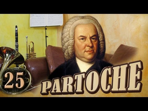 Partoche 25 - L'art de la fugue - Johann Sebastian Bach