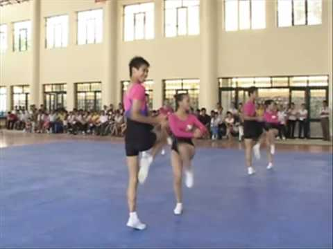 Bài thi đấu AEROBICS tự chọn - đội TP Hà Nội