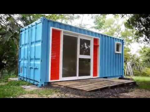 Casa container mar lia ccm 01 m dulo multiuso cheap for Container casa