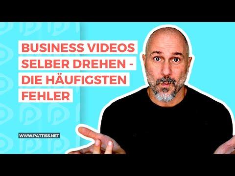 Business Videos selber erstellen - die häufigsten Fehler