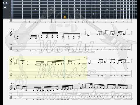 Iced Earth   The Funeral GUITAR 1 TAB