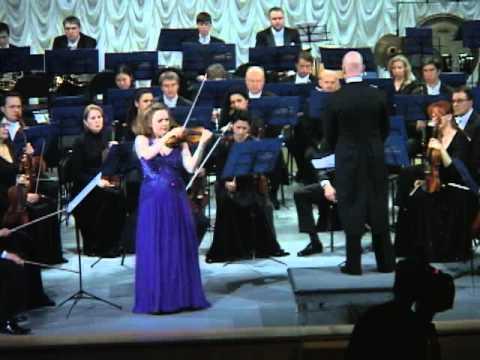 Tchaikovsky Violin Concerto 1st movement - Rachel Barton Pine