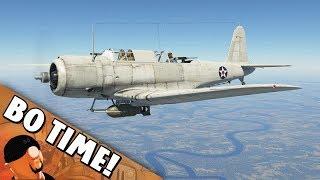 War Thunder - SB2U-3 'Vindicator Is Mean!'