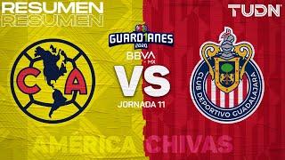 Resumen y goles | América vs Chivas | Guard1anes 2020 Liga BBVA MX - J11 | TUDN