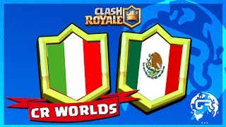 COUPE DU MONDE CLASH ROYALE : ITALIE vs MEXIQUE de pompeyo !!!!