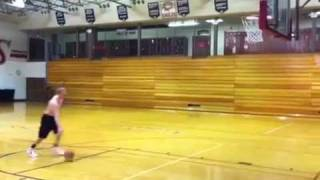 Taylor Hastings dunks @ Fremont High School